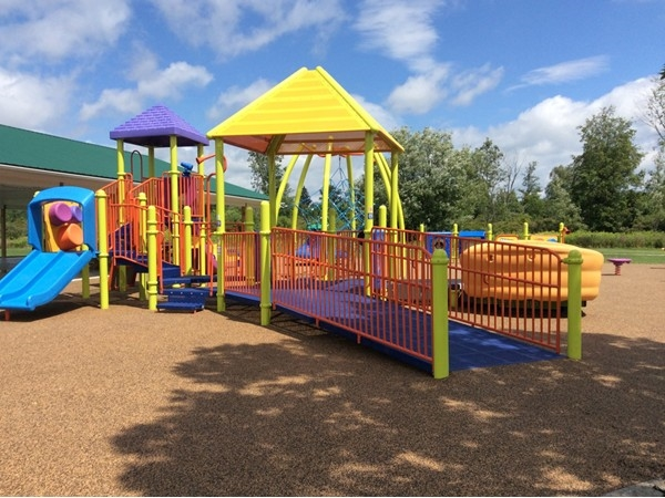 New summer 2014 Miracle Field playground