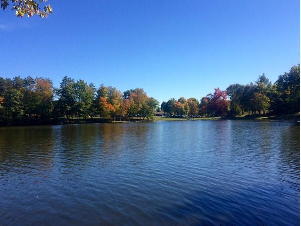 Nice day at lake in Newburgh