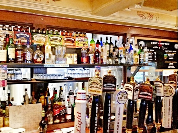 Great selection of beer. Southampton Public House restaurant