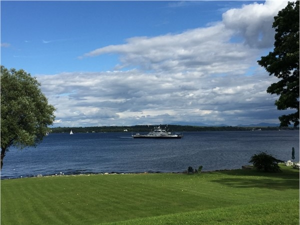 Lake Champlain adorns wonderful mountain and Lake Champlain views. Come for a visitor stay