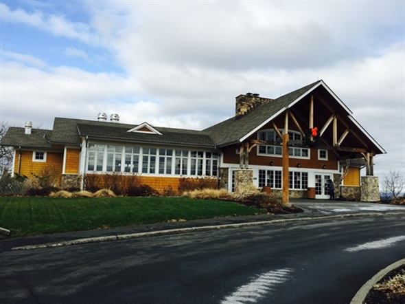 Clubhouse at park and golf course. Also has lakes, winter tubing, summer camp and more