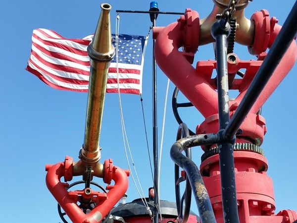 Old fireboat