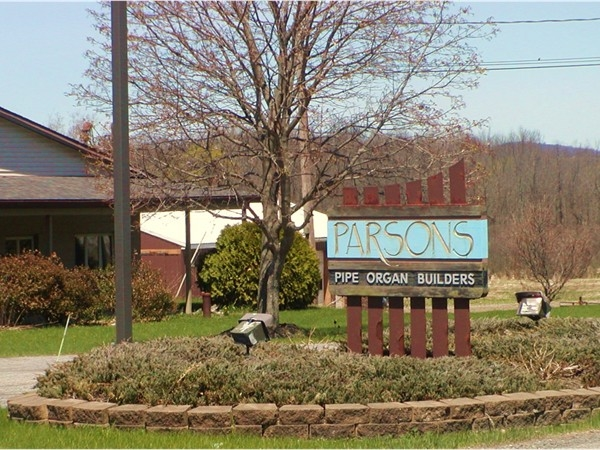 Parsons Pipe Organ Builders...another great local business!
