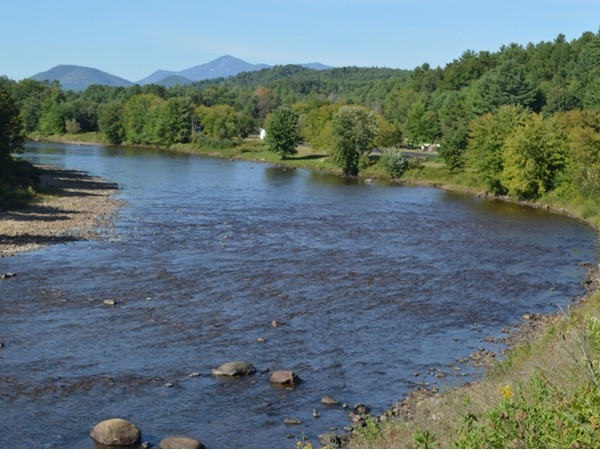 The North Country has so many lakes, rivers and mountain views.  This view does not disappoint.