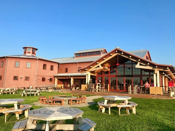 Angry Orchard - 60 acre orchard with spacious outdoor seating area