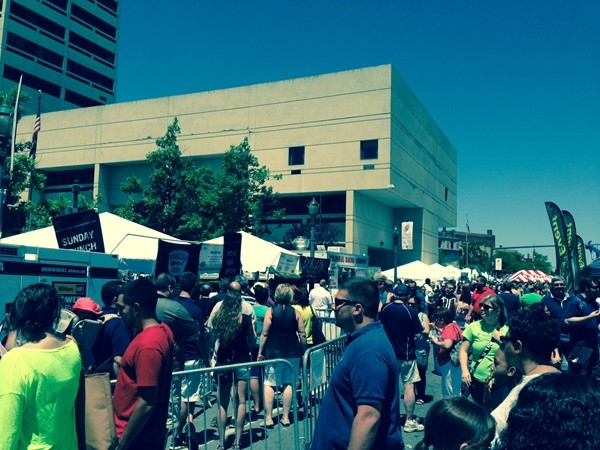 Taste of Syracuse! A fun, food-filled annual event where $1 gets you a taste of a restaurant's best!