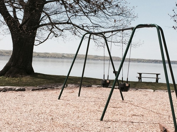 You can often find me and my family enjoying Lodi Point State Park. It has great playgrounds!