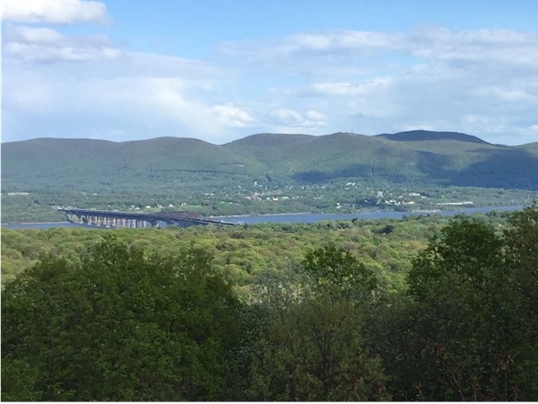 View from the top of Cronomer Hill in town of Newburgh