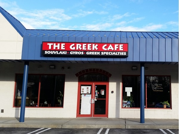 "My favorite Greek spot off of 211 when I am craving ""grape leaves"". I just run in and order some"