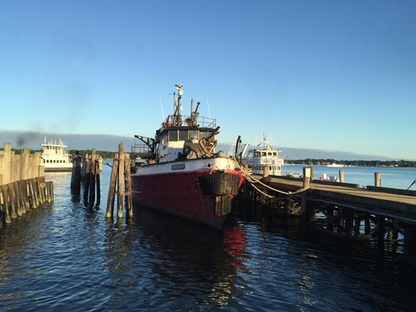 New York Fire Dept Pump Ship