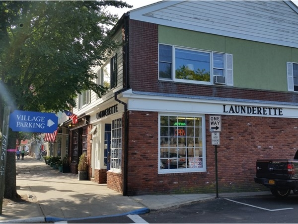 This launderette has a history back to the time when Sag Harbor was just a fishermen town