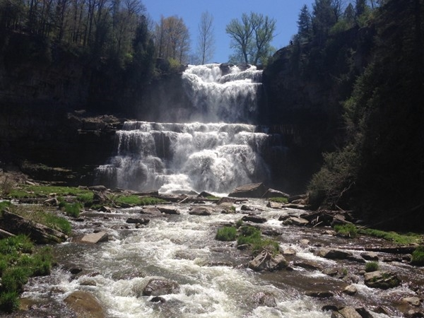 Chittenango Falls State Park located between Chittenango and Cazenovia