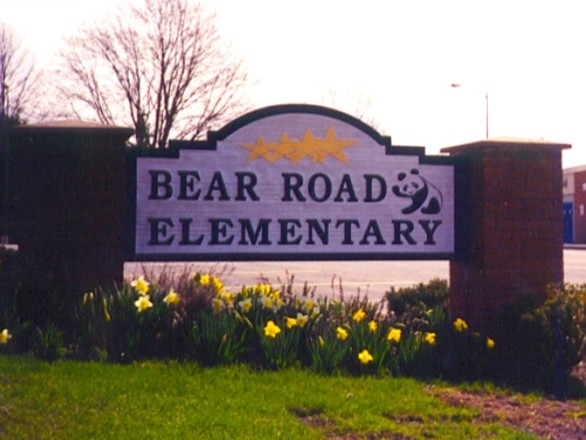 Show some paw pride! Bear Road Elementary in North Syracuse School District