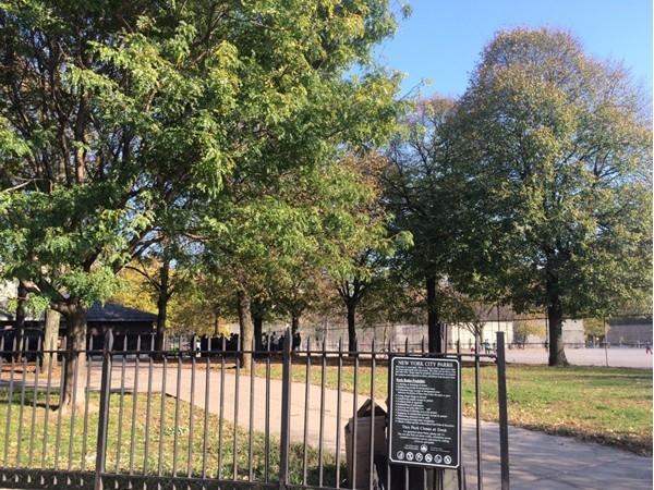 Enjoy the day in the park in Bensonhurst