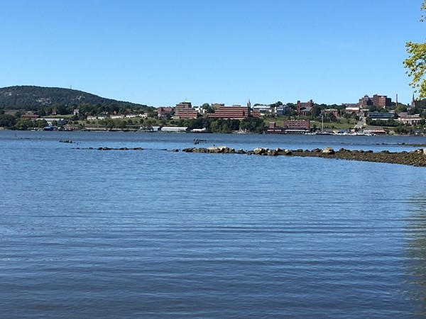 Newburgh Waterfront on the Hudson River