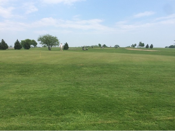 Great day for a game of golf at Bay Park Golf Course