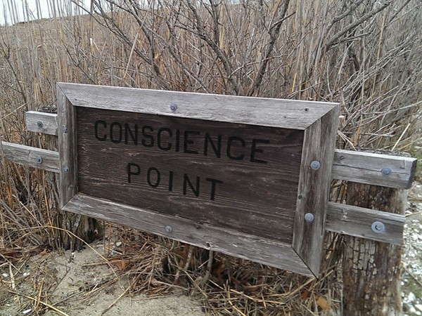 Conscience Point, The first English settlement in New York