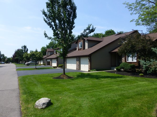 Two and three bedroom townhomes with attached garages
