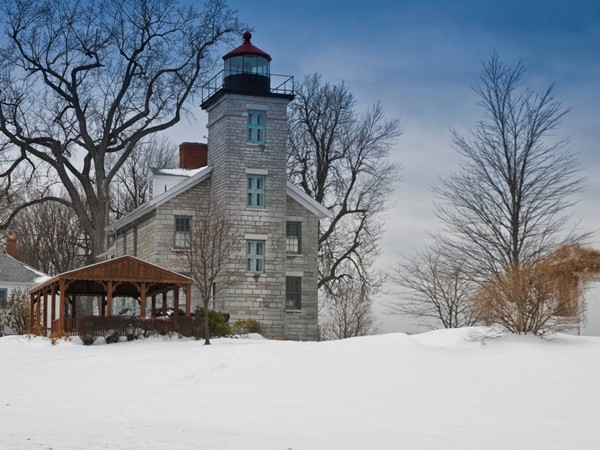 The Sodus Bay Lighthouse Museum is closed in December and January, but will reopen part-time in Febr