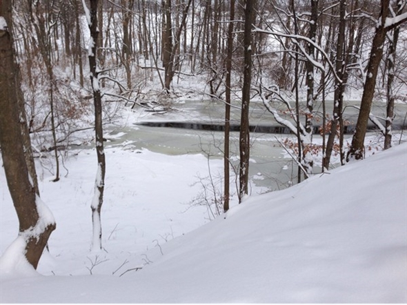 Coming soon! Snow covered trails to enjoy at Black Creek Park
