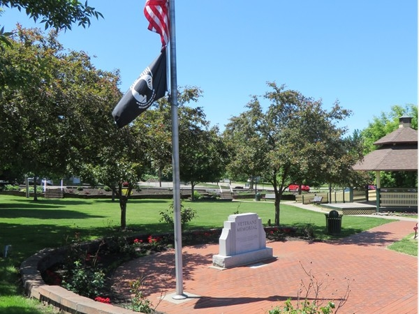 Veterans Park in the Village of Webster off North Avenue