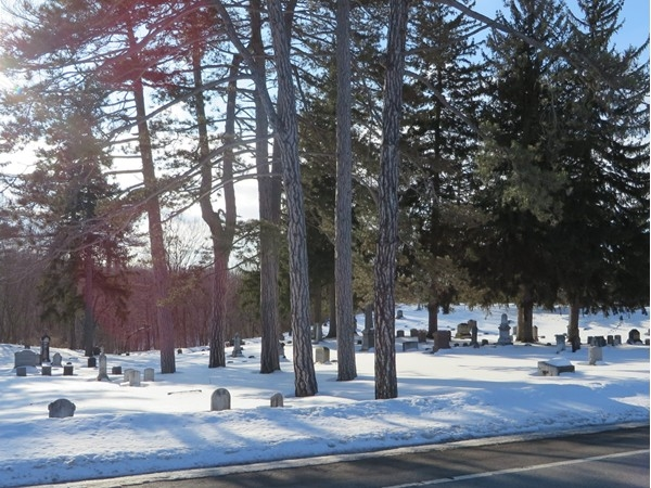 Old cemetery in Honeoye Falls