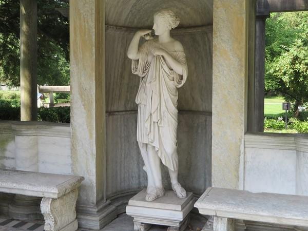 The Goddess Diana at the Sonnenberg Gardens