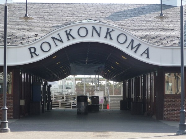The Ronkonkoma Train Station. Get ready for your morning commute