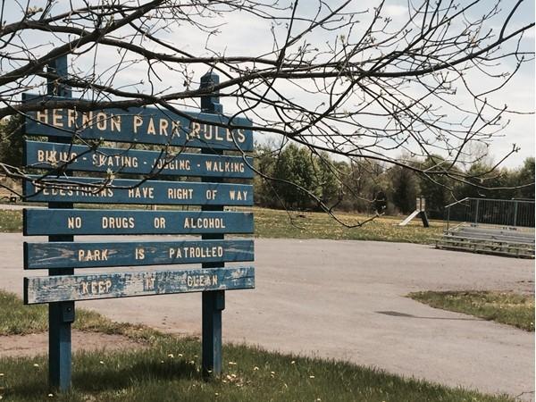 Hernon Park in Willard