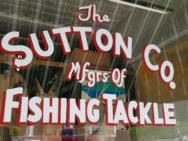 The famous Sutton Spoon fishing lure is manufactured right in Naples, NY