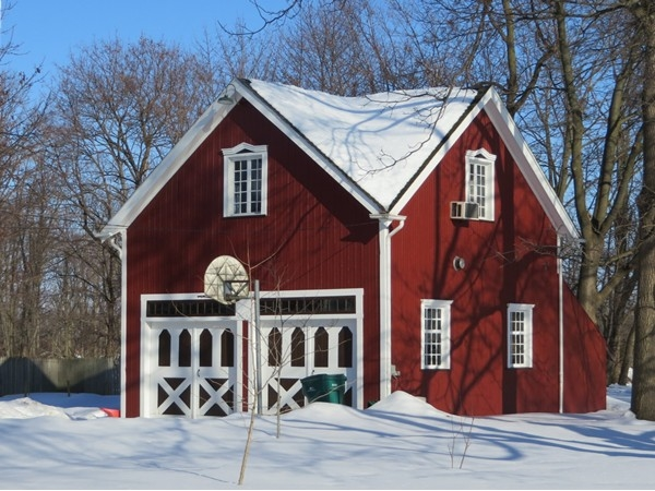 Century old carriage house in the Village of Honeoye Falls