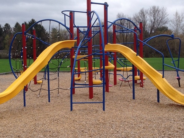 One of the play sets at Cobbles Elementary School
