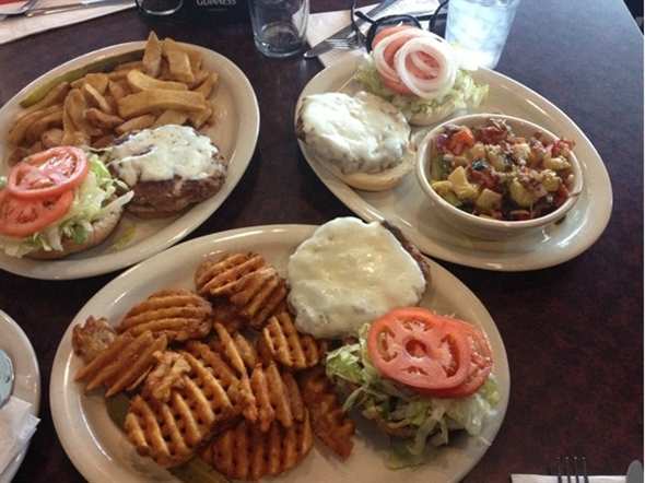 Great way to celebrate National Cheeseburger Day at Amherst Pizza & Ale House