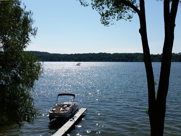 A picture perfect day at the lake