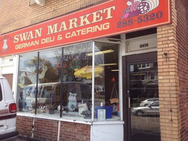 Swan Market on Parsells Avenue is the best German deli in the city