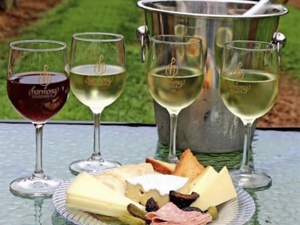 Wine at Harmony Vineyards