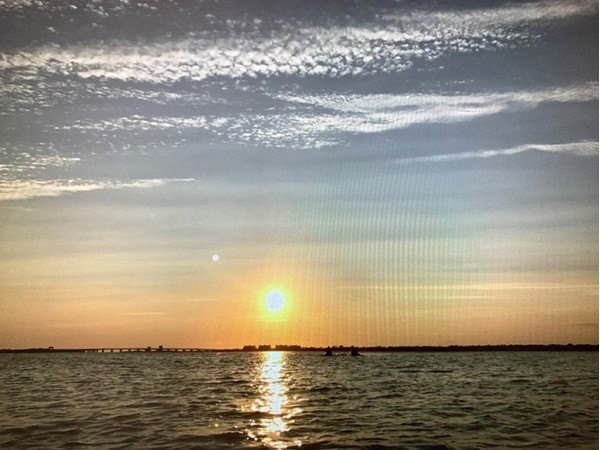 Sunset at Smith Point County Park