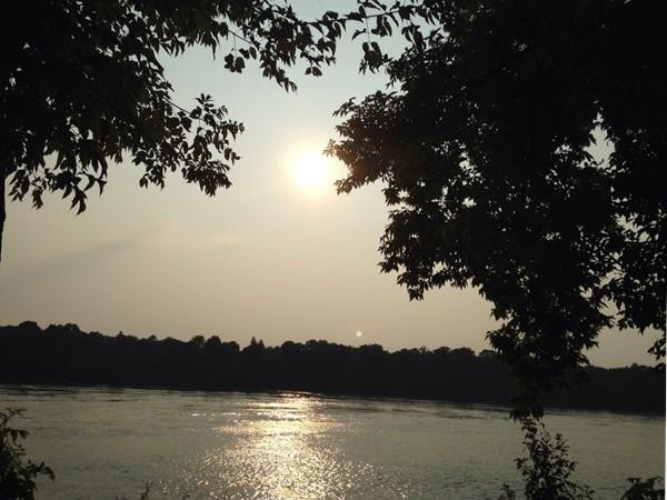 Lake Erie at sunset!