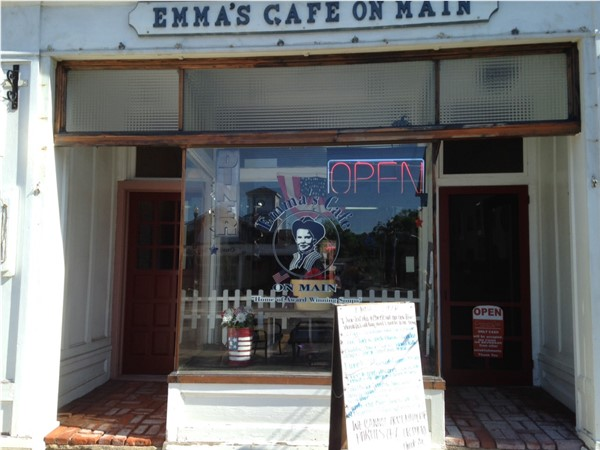 Emma's Cafe on Main on Albany Street in Cazenovia