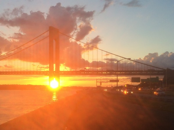 No need to go to Hawaii for a spectacular sunset, just come to Dyker Heights
