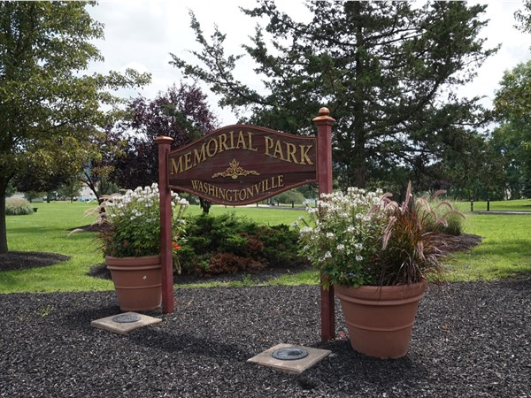 Washingtonville Memorial Park tribute to Fallen 911 Heroes