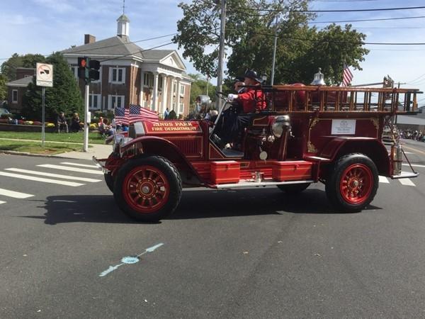 One of our original firetrucks