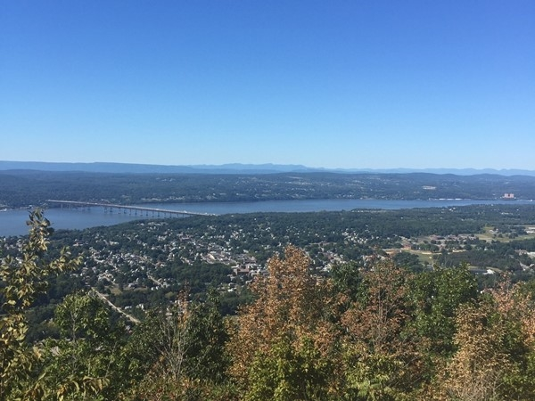 Top of Mt. Beacon - View of the Hudson Valley