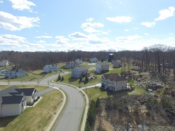 Looks like spring is finally here in the Hudson Valley. Flying over Briarcliff Estates in Monroe