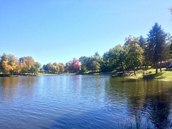 Beautiful lake at Newburgh
