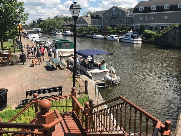 Village of Fairport on the Erie Canal