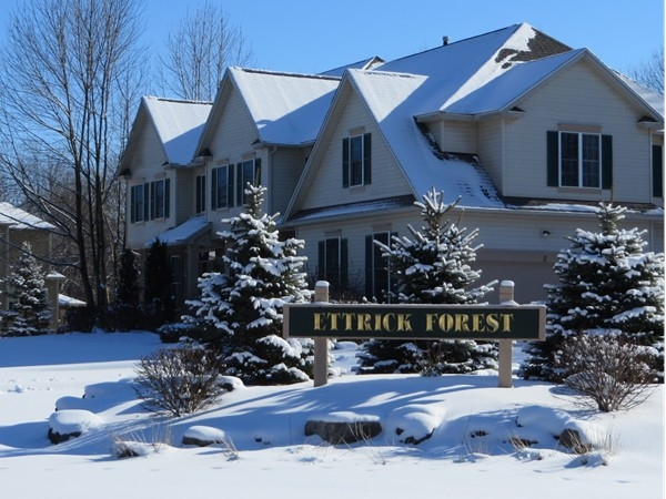 Ettrick Forest Subdivision in Penfield off Scribner Road
