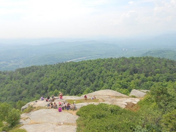 With views like this, it makes the climb to the top of Poke-O-Moonshine Mountain worth it