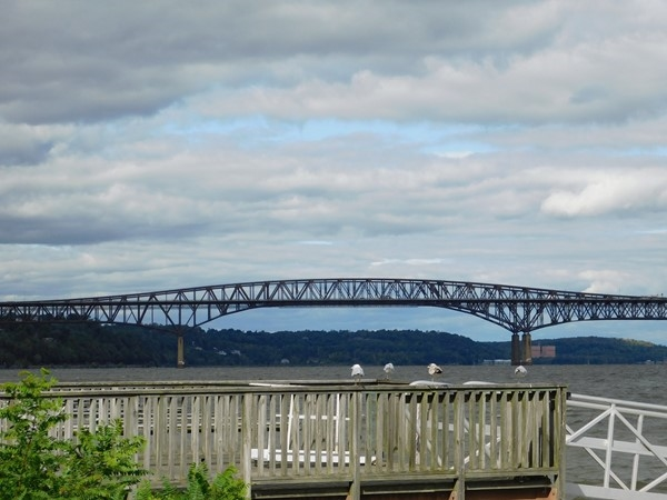 Newburgh Beacon Bridge from the Hudson River view - Travel west to east