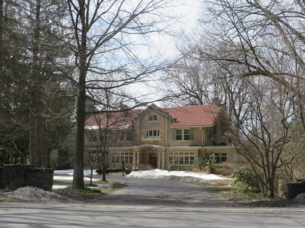 East Avenue brick mansion in Pittsford in the 3500 block